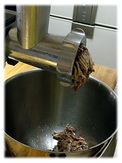 挽き肉を作る